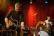 Josh Ritter performing at Off Broadway in St. Louis, Missouri on July 22, 2011. © Todd Owyoung.