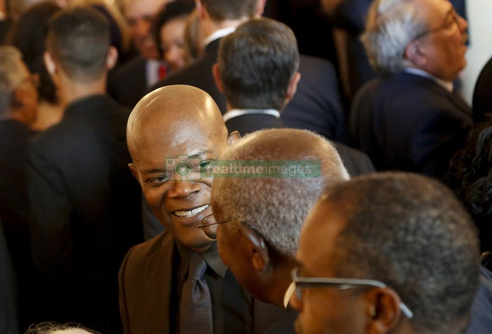 Samuel Jackson beim Empfang im Weissen Haus zur Einweihung des neuen Museums für Afroamerikanische Geschichte und Kultur in Washington <br /> <br /> / 240916<br /> <br /> *** Opening ceremony of the Smithsonian National Museum of African American History and Culture on September 24, 2016 in Washington, DC ***