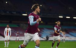 Chris Wood of Burnley celebrates scoring his sides first goal - Mandatory by-line: Jack Phillips/JMP - 23/11/2020 - FOOTBALL - Turf Moor - Burnley, England - Burnley v Crystal Palace - English Premier League