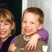 Diana Janssen verjaardag 2 jaar, Saskia & Dennis Veerman