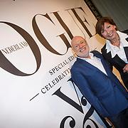 NLD/Amsterdam/20130110 - 20 Years of Viktor & Rolf - Vogue, financier en kunstverzamelaar Han Nefkens en Marlies Horsting, moeder Rolf van Viktor & Rolf