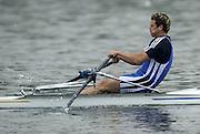 Hazewinkel. Belgium. Senior Trails. James CRACKNELL.<br /> 13/04/2004  - 2004 GBR Rowing Trail -Hazenwinkel Belgium   [Mandatory Credit:peter SPURRIER/Intersport Images]
