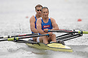 Amsterdam, HOLLAND, EST M2X Bow, Tonu ENDREKSON and Jueri JAANSON, at the 2007 FISA World Cup Rd 2 at the Bosbaan Regatta Rowing Course. 23.06.2007[Mandatory Credit: Peter Spurrier/Intersport-images]...... , Rowing Course: Bosbaan Rowing Course, Amsterdam, NETHERLANDS