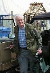 © Under licence to London News Pictures. 14/03/14 Tony Benn has died aged 88. FILE PICTURE: Tony Benn attends the Glastonbury Festival in 2001. Photo credit : Jason Bryant/LNP