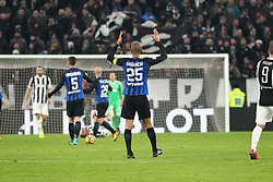 December 9, 2017 - Turin, Piedmont, Italy - Miranda (FC Internazionale) during the Serie A football match between Juventus FC and FC Internazionale at Allianz Stadium on 09 December, 2017 in Turin, Italy..The final score is 0-0. (Credit Image: © Massimiliano Ferraro/NurPhoto via ZUMA Press)