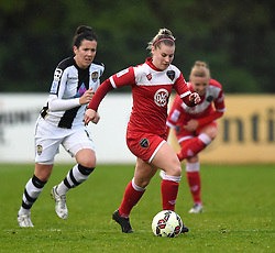 Bristol Academy's Nikki Watts  - Photo mandatory by-line: Paul Knight/JMP - Mobile: 07966 386802 - 25/04/2015 - SPORT - Football - Bristol - Stoke Gifford Stadium - Bristol Academy Women v Notts County Ladies FC - FA Women's Super League