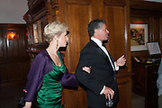 ELISABETH ESTEVE; PETER SOROS, Rocco Forte's Brown's Hotel Hosts 175th Anniversary Party, Browns Hotel. Albermarle St. London. 16 May 2013