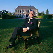O'Reilly, CEO o fthe H.J. Heinz Company, at his mansion in Ireland.