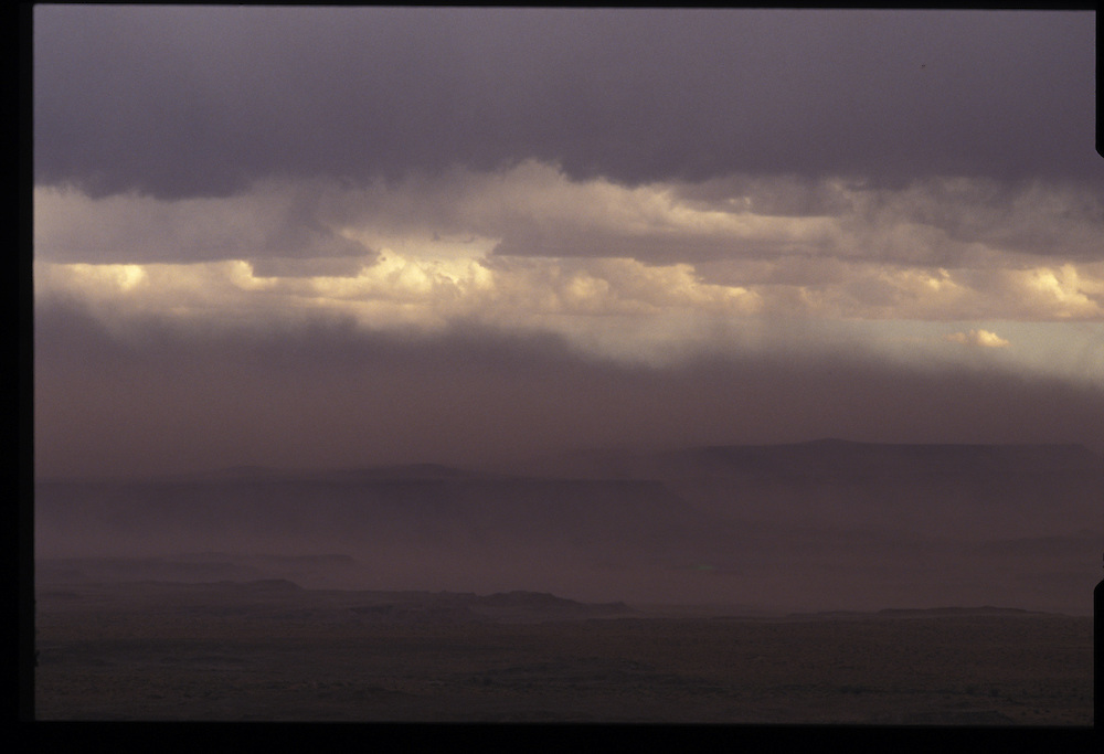 1993 storm near Tuba City, Arizona.