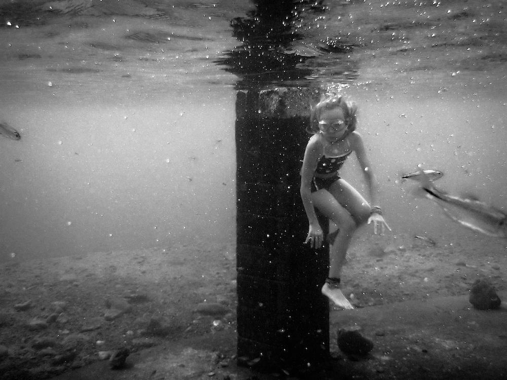 Swimming in Balmorhea.