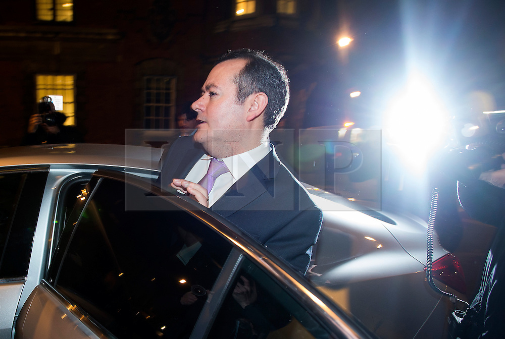 © Licensed to London News Pictures. 05/01/2016. London, UK. Former Shadow Secretary of State for Culture, Media and Sport MICHAEL DUGHER leaving Milbank Studios in London on the day he was sacked by Jeremy Corbyn as part of his Shadow Cabinet reshuffle. Photo credit: Ben Cawthra/LNP