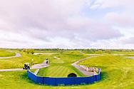 28-04-2018 - Le Golf National met de Albatros baan, de baan waar in 2018 de Ryder Cup wordt gespeeld.