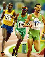 Athletics, 86. august 2003, VM Paris, World Championship in Athletics, Hezekiel Sepeng, 800 metres