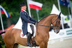 Townend Oliver, (GBR), Dromgurrihy Blue<br /> Dressage - CCI 4* Luhmuhlen 2016<br /> © Hippo Foto - Jon Stroud<br /> 16/06/16