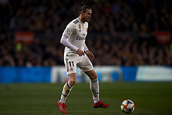 February 6, 2019 - Barcelona, Barcelona, Spain - Gareth Bale of Real Madrid controls the ball during the Spanish Cup (King's cup), first leg semi-final match between FC Barcelona and  Real Madrid at Camp Nou stadium on February 6, 2019 in Barcelona, Spain. (Credit Image: © Jose Breton/NurPhoto via ZUMA Press)
