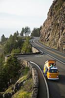 Vanlife along the Oregon coast. Manzanita, Oregon.