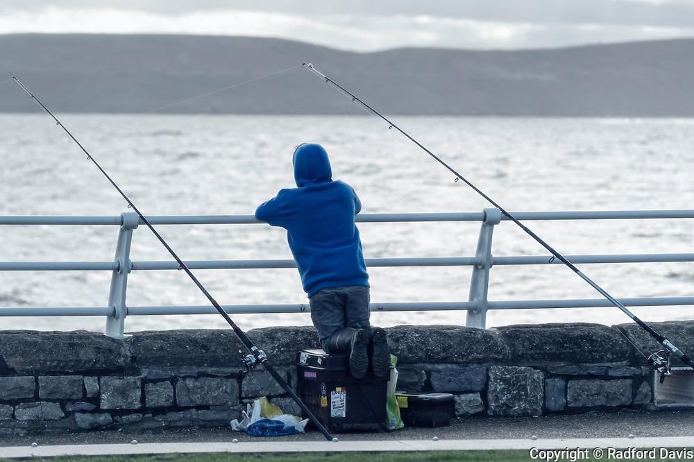 Fisherman, Weston-super-Mare, England