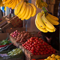 North Africa, Morocco, Fes. Fruits in the souks of Fes.