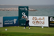 Francesco Laporta (ITA) on the 9th during Round 1 of the Oman Open 2020 at the Al Mouj Golf Club, Muscat, Oman . 27/02/2020<br /> Picture: Golffile   Thos Caffrey<br /> <br /> <br /> All photo usage must carry mandatory copyright credit (© Golffile   Thos Caffrey)