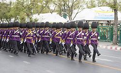 Parade to Royal Palace, Parade to Royal Palace, Coronation of the King of Thailand, Rama X, His Majesty King Maha Vajiralongkorn Bodindradebayavarangkun, in Bangkok, Thailand, on May 04, 2019. Photo by Loic Baratoux /ABACAPRESS.COM