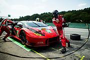August 25-27, 2017: IMSA Weathertech GT Challenge. 48 Paul Miller Racing, Lamborghini Huracan GT3, Bryan Sellers, Madison Snow