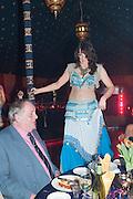 BELLY DANCER ; AYSHE, Alice Manners 18th   birthday. Belvoir Castle, Grantham. 12 April 2013.