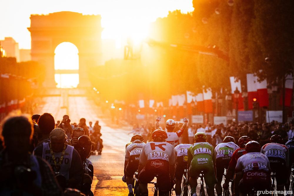 Caleb Ewan wins the final stage of the 2019 Tour de France in Paris.