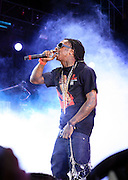 Lil Wayne aka Weezy at The 2008 Hot 97 Summer Jam held at Giants Stadium in Rutherford, NJ on June 1, 2008...Summer Jam is the annual hip-hop fest held at Giants Stadium and sponsored by New York based radio station Hot 97FM.