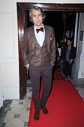 GEORGE LAMB at a party to celebrate the launch of Buzz a new magazine from The Sun newspaper held at Il Bottacio, 9 Grosvenor Place, London SW1 on 15th September 2010