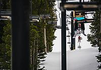 Prospector charilift, Hogadon Ski Basin, Casper, Wyoming.