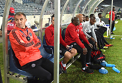 South Africa: Gauteng: Orlando Pirates coach Milutin Sredojevic gestures during the Absa Premiership against Bidvest Wits at orlando stadium, Johannesburg.<br />Picture: Itumeleng English/African News Agency (ANA)