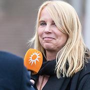 NLD/Leusden/20180306 - Uitvaart Mies Bouwman, Linda de Mol