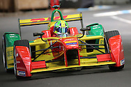 ABT Schaeffler Audi Sport driver, Lucas Di Grassi after teh chicane during round 10, Formula E, Battersea Park, London, United Kingdom on 3 July 2016. Photo by Matthew Redman.