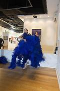 GWENDOLINE LAMAR, Lady  Sandra Bates and Jason Bradbury host 'Lust' a mixed exhibition. La Galleria. Pall Mall.  London 3 September 2013.