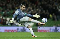Football - International Friendly - Ireland vs. Norway<br /> Ireland's Shay Given at the Aviva Stadium, Dublin