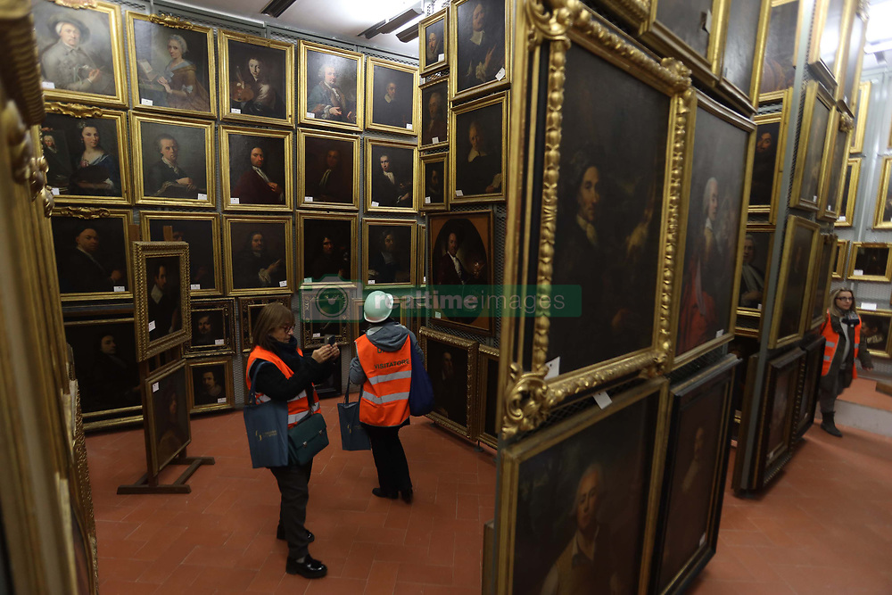 Italy, Florence - February 25, 2019.The depot of the Uffizi Gallery of Florence, Galleria degli Uffizi called. (Credit Image: © Fusi/Fotogramma/Ropi via ZUMA Press)