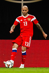 November 16, 2018 - Leipzig, Germany - Fedor Kudryashov of Russia in action during the international friendly match between Germany and Russia on November 15, 2018 at Red Bull Arena in Leipzig, Germany. (Credit Image: © Mike Kireev/NurPhoto via ZUMA Press)