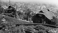 1922 The Bernheimer Residence. Now Yamashiro Restaurant in Hollywood