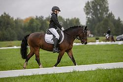 Van den Bogerd Diewke, BEL, Biebosschen Little Star<br /> Nationaal Kampioenschap LRV <br /> Ponies Dressuur - Oudenaarde 2020<br /> © Hippo Foto - Dirk Caremans<br /> 03/10/2020