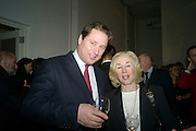 JOE THORNTON; SHIRLEY FREEMAN, THE LAUNCH OF THE KRUG HAPPINESS EXHIBITION AT THE ROYAL ACADEMY, London. 12 December 2011.