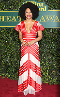Naomi Ackie, London Evening Standard Theatre Awards, Theatre Royal Drury Lane, London UK, 03 December 2017, Photo by Richard Goldschmidt