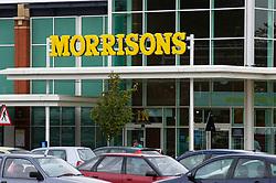 Morrisons supermarket, Freemans Park, Leicester, England, United Kingdom.