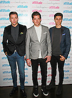 The Scheme, Attitude Magazine's Hot 100 Summer Party, The Rumpus Room at the Mondrian Hotel, London UK, 20 July 2015, Photo by Brett D. Cove