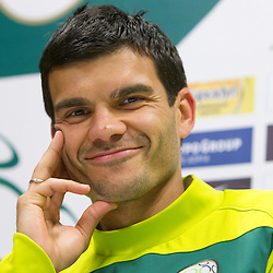 20100616: World Cup South Africa 2010, Press conference of Slovenia
