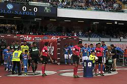 October 7, 2018 - Naples, Campania, ITALY: 2018-10-07 Serie A SSC Napoli - Sassuolo Championship. (Credit Image: © Fabio Sasso/ZUMA Wire)