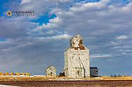 Old granary near Choteau, Montana, USA