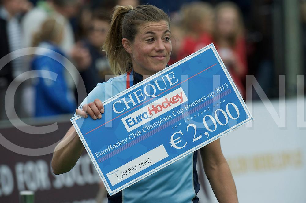 BLOEMENDAAL - EHCC Final<br /> Den Bosch - Laren MHC<br /> Foto: Kim Lammers.<br /> FFU PRESS AGENCY COPYRIGHT FRANK UIJLENBROEK