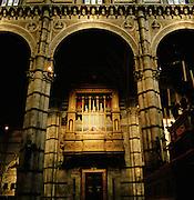 Organ, Duomo Santa Maria dell' Assunta Cathedral, Siena, Tuscany, Italy