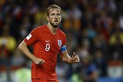 July 3, 2018 - Moscow, Russia - Harry Kane of England during the 2018 FIFA World Cup Russia Round of 16 match between Colombia and England at Spartak Stadium on July 3, 2018 in Moscow, Russia. (Credit Image: © Mehdi Taamallah/NurPhoto via ZUMA Press)