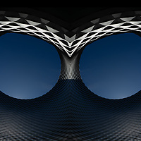 abstract architecture in Bassel, Switzerland